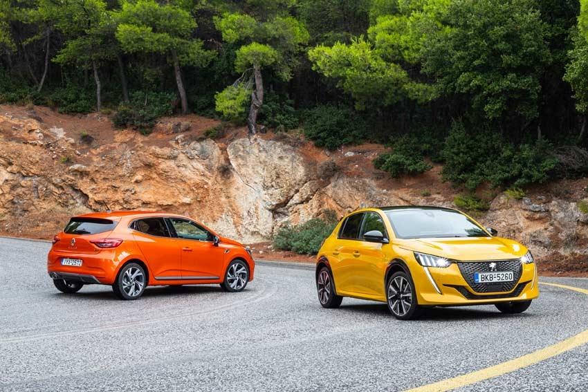 Peugeot 208 - Renault Clio