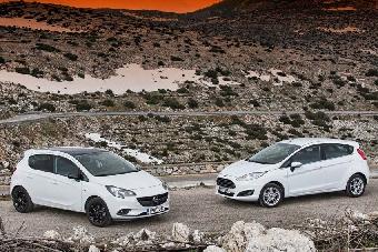 Ford Fiesta - Opel Corsa