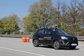 SsangYong autonomous drive