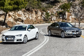 Audi A4 - BMW 3