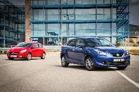 Opel Corsa - Suzuki Baleno
