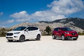 Ford Kuga - Renault Kadjar