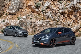 Nissan Micra - Peugeot 208