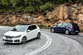 Peugeot 308 1 - VW Golf