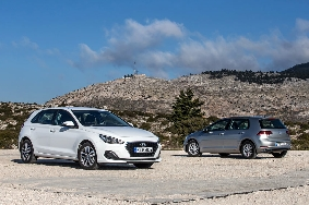Hyundai i30 - VW Golf