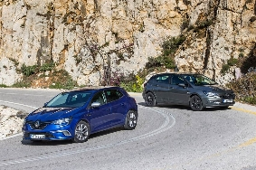 Opel Astra - Renault Megane