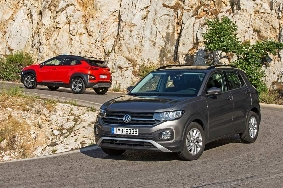 Hyundai Kona - VW T-Cross