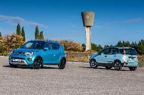Fiat Panda Cross - Suzuki Ignis